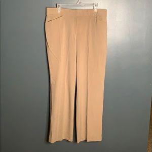 JM Collection tan dress pants